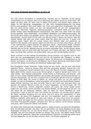 150 Jahre Kirchweih Quedlinburg Lk 19,1-10 Vor 150 Jahren ...