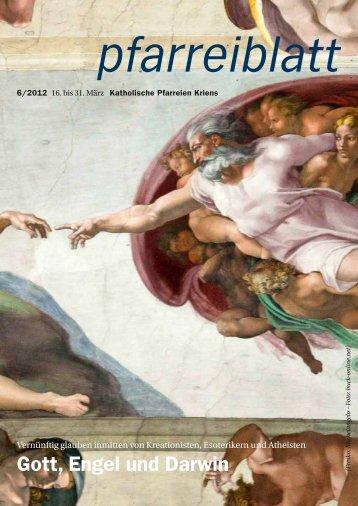 Pfarreiblatt 6/2012 - Katholische Kirchgemeinde Kriens