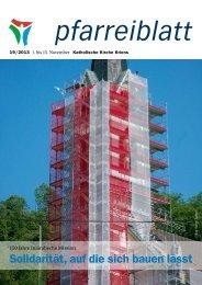 Pfarreiblatt 19/2013 - Katholische Kirche Kriens