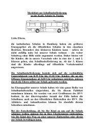 Merkblatt zum HVV-Schulbus - Katholische Schule St. Paulus