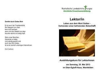 Lektor/in