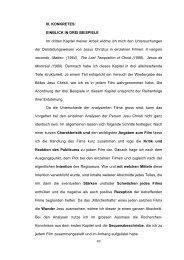 49 III. KONKRETES: EINBLICK IN DREI BEISPIELE Im dritten ...