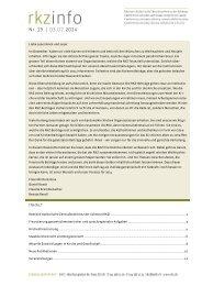 rkzinfo 19 im Wortlaut (pdf) - Kath.ch