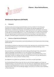 Wettbewerbsreglement (pdf)