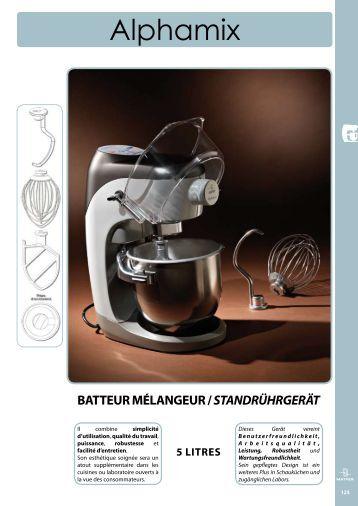mixeur Plongeant mP