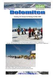 Ski 3 Tagesfahrt Www.dav-Kaufering.de