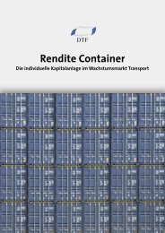 Rendite Container Die individuelle ... - Finest Brokers Gmbh