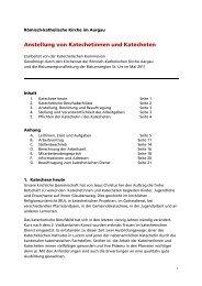 Gesamtdokument mit allen Anhängen - Römisch-Katholische Kirche ...