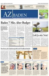 Kreuze als Träger intimer Geschichten, Aargauer Zeitung, 26 ...