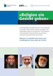 Religion ein Gesicht geben - Römisch-Katholische Kirche im Kanton ...
