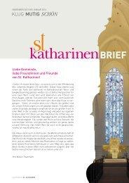 Katharinenbrief (PDF) | November 2013 bis Januar 2014