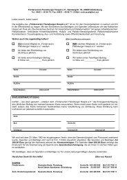 Aktuelles Beitrittsformular als PDF herunterladen (Stand: Mai 2011)