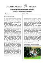 katharinen /q brief - Förderverein Flensburger Hospiz eV: Startseite