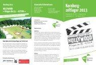 Flyer Kornberg-Zeltlager 2013 - Katholische Jugendreferate | BDKJ ...