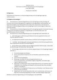 Richtlinien Kommission zur ethischen Begutachtung von ...