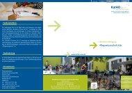 Pflegewissenschaft, B.Sc. - Katholische Hochschule Nordrhein ...