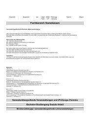 Vorlesungsverzeichnis WS 2013/14