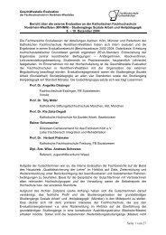 Seite 1 von 27 - Katholische Hochschule Nordrhein-Westfalen
