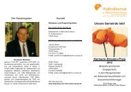 Hermann-Straaten-Preis 2012 - Katholikenrat im Rhein-Kreis Neuss