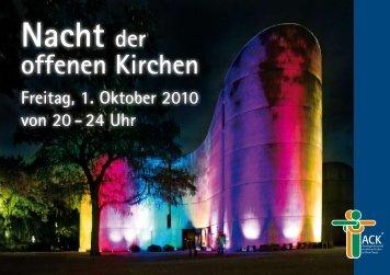 Nacht der offenen Kirchen 2010 - Katholikenrat im Rhein-Kreis Neuss