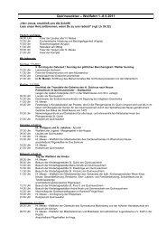 Programm der Quirinusoktav 2011 - Katholikenrat im Rhein-Kreis ...