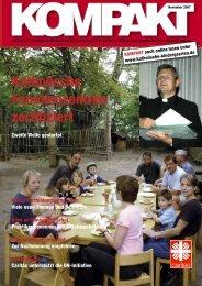 Ausgabe 2/2007 - Katholische Tageseinrichtungen für Kinder im ...