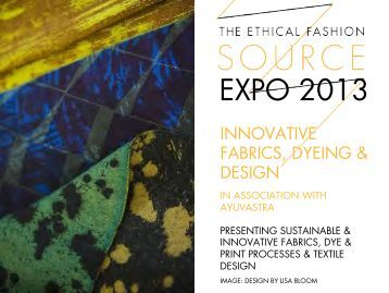 SOURCE EXPO 2013 Innovative Fabrics, Dyeing