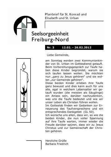 Pfarrblatt 3 2012 - Stadtdekanat