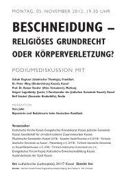 Beschneidung - Katholische Kirche Kassel
