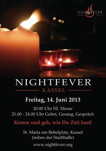 NIGHTFEVER - Katholische Kirche Kassel