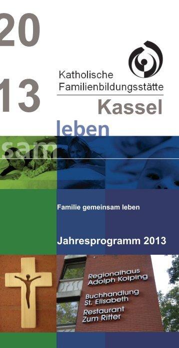Jahresprogramm 2013 der Familienbildungsstätte Kassel