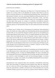 Aufruf der deutschen Bischöfe zur Bundestagswahl - Katholische ...