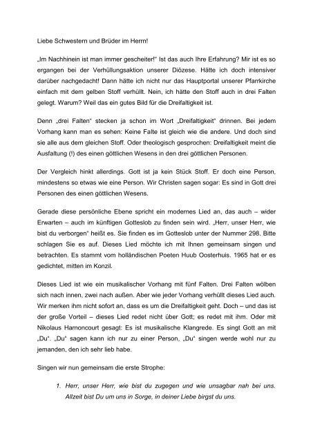 Wort gotteslob ein ist nur nicht liebe experience-ccra-in.ctb.combuchlieder
