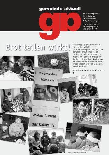 """8 - Seelsorgeeinheit """"Unteres Brenztal"""""""
