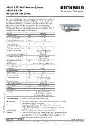 9364079, ARU4 RFID UHF Reader-System, 52010099