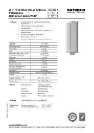 9363625a; UHF RFID Wide Range Antenna - Intermec