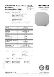 9363757; UHF RFID Wide Range Antenna - 52010078