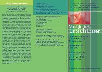 Programm - Katholisch-Theologische Fakultät - Ludwig-Maximilians ...