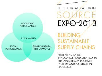 EXPO 2013 BUILDING SUSTAINABLE SUPPLY CHAINS