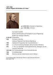 Biografie - Katholisch-Theologische Fakultät - LMU