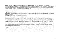 Modulhandbuch für den Studiengang Katholische Religionslehre für ...