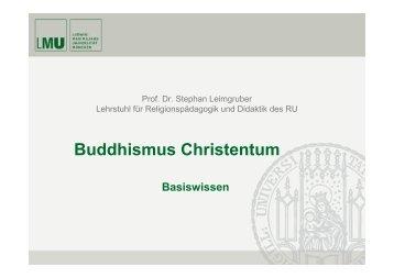 Buddhismus Christentum