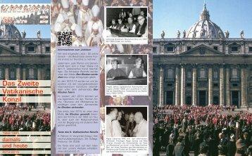 Das Zweite Vatikanische Konzil, damals und heute - Vaticanum2