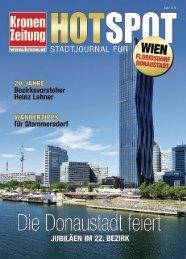Hotspot Floridsdorf Donaustadt_140313