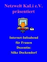 Frauen im Internet - Katlenburg-Lindau