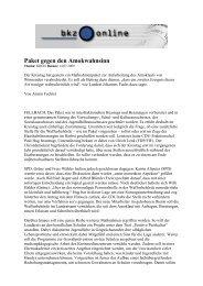 Paket gegen den Amokwahnsinn - Katrin Altpeter