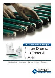 Printer Drums, Bulk Toner & Blades - Katun