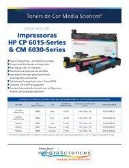 Impressoras HP CP 6015-Series & CM 6030-Series - Katun