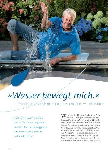 Filter- & Bachlaufpumpen - Emmel Garten · Tier