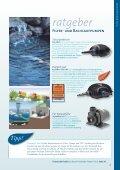 Filter- & Bachlaufpumpen - Emmel Garten · Tier - Seite 4